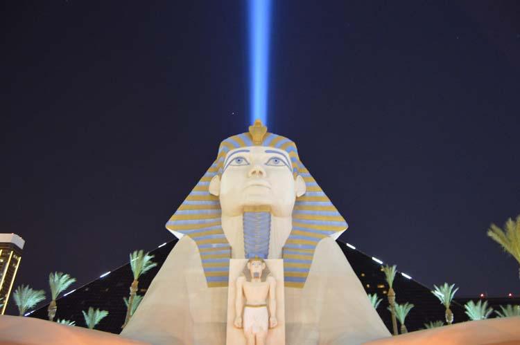 The Luxor in Las Vegas, Nevada