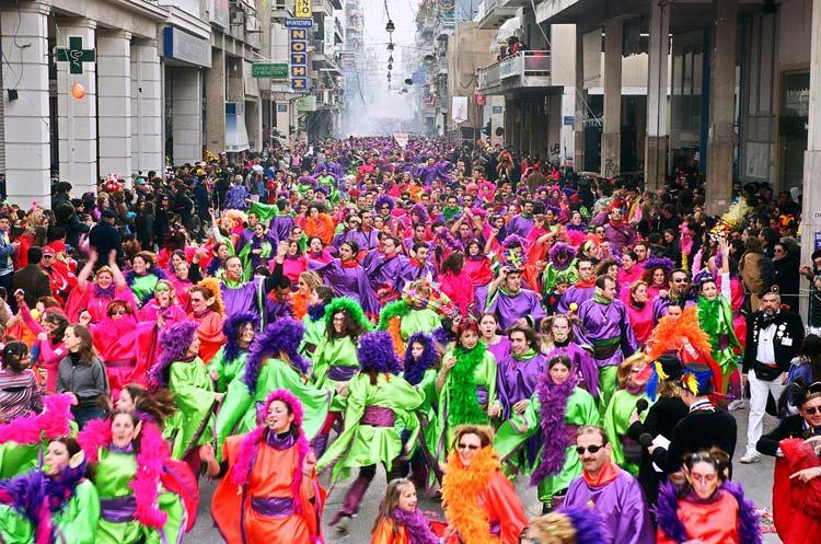 The Patras Carnival in Greece