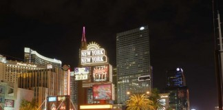 World famous landmarks in Vegas