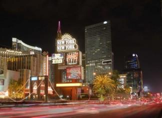 World famous landmarks in Vegas