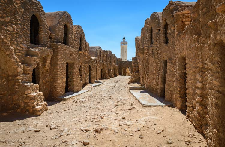 Film Set in Tunesia