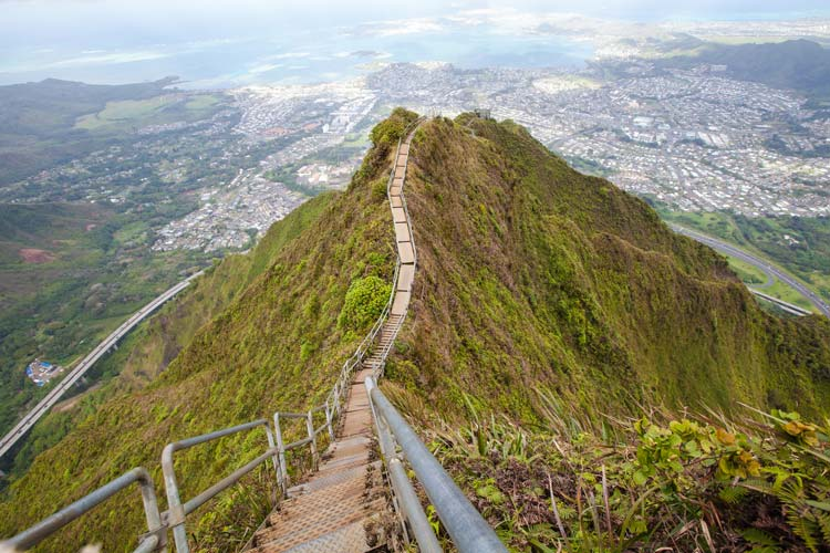 Haiku Stairs Oahu, Hawaii