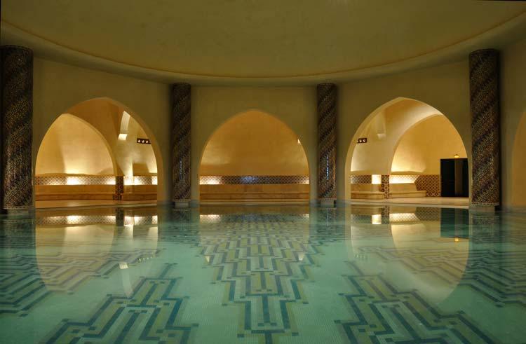 Inside a Moroccan Hammam