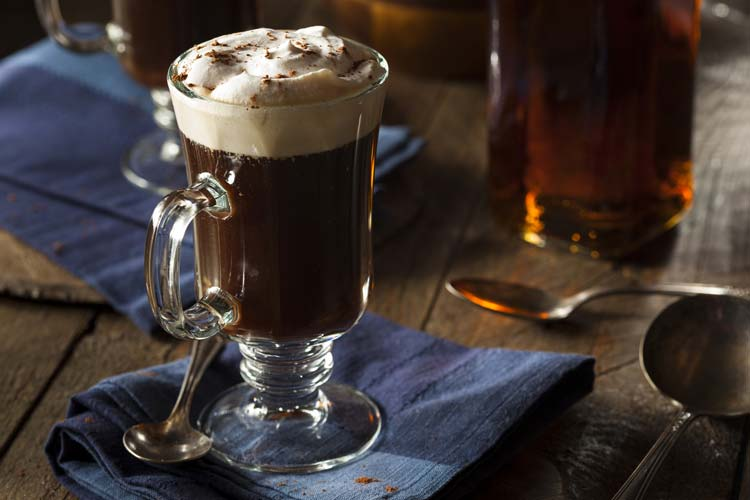 Irish coffee, Ireland