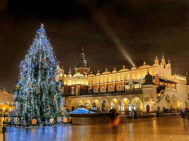 Main square, Old Town of Krakow