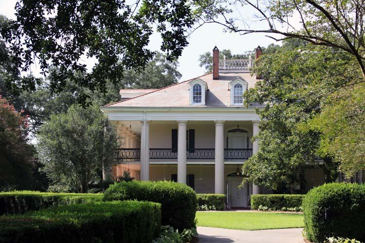 Oak Alley Plantation Mansion