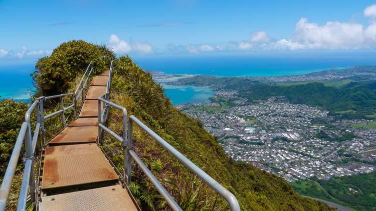 Oahu Stairway to Heaven