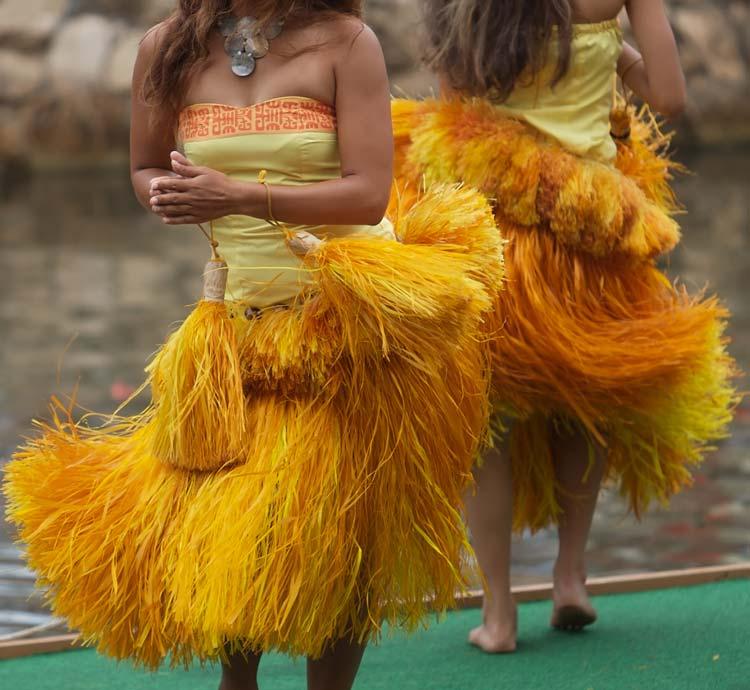 hula dancing