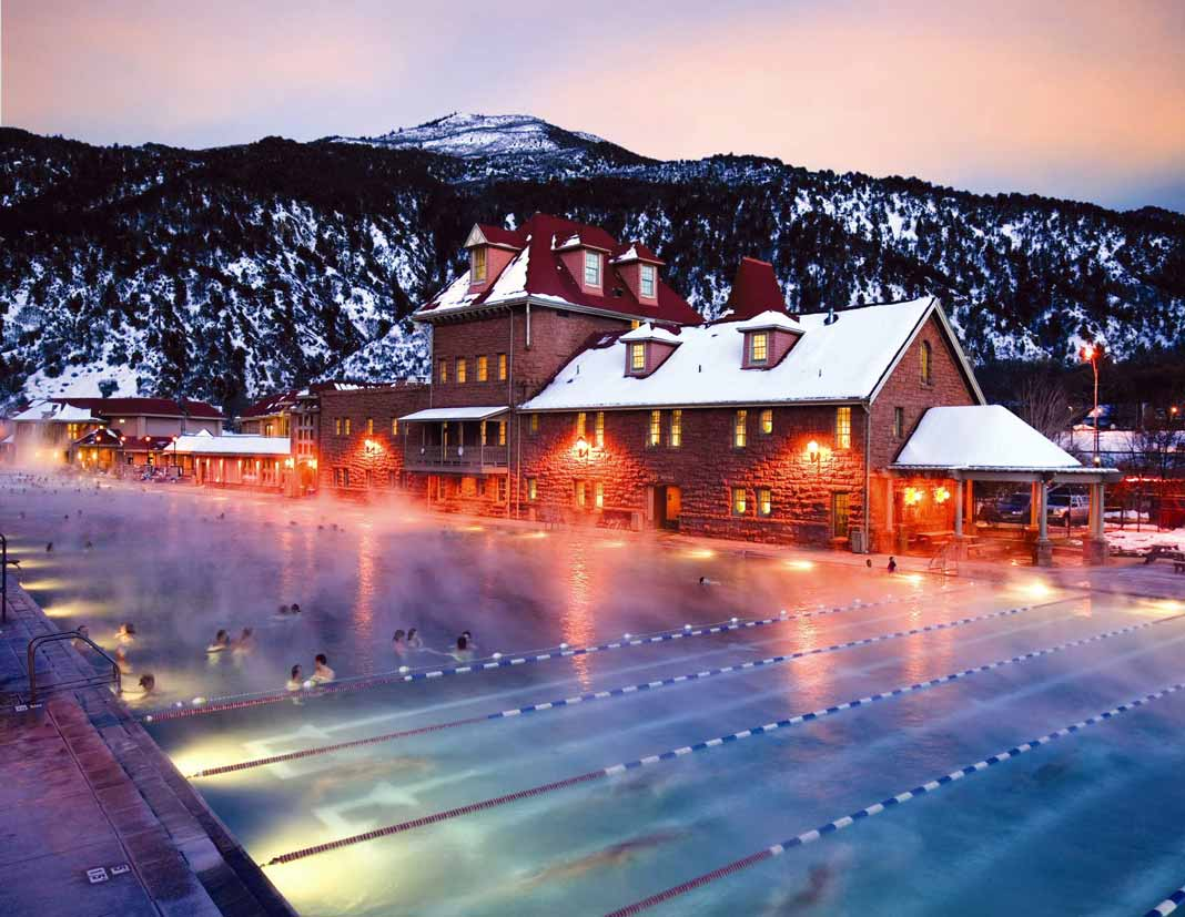 The Hot Springs Pool In Glenwood Is A Relaxing Retreat