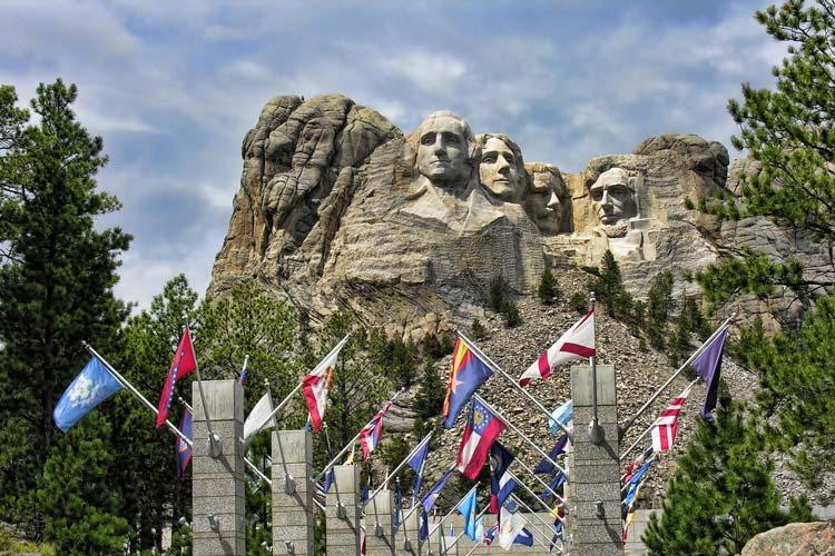 Six Grandfathers Mount Rushmore