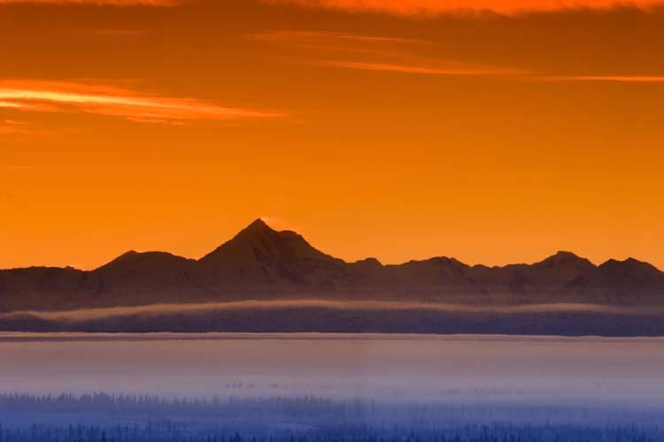 Sunset Alaska