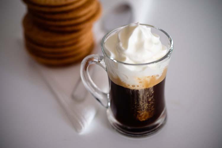 caffe con Panna