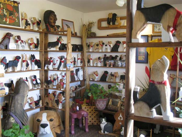 Dog Bark Park gift shop