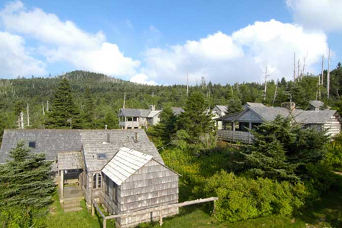 Leconte lodge camp