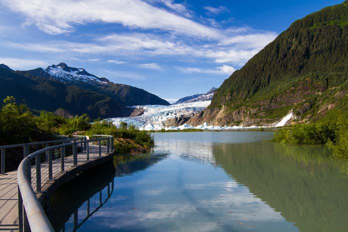 Path to the Glacier