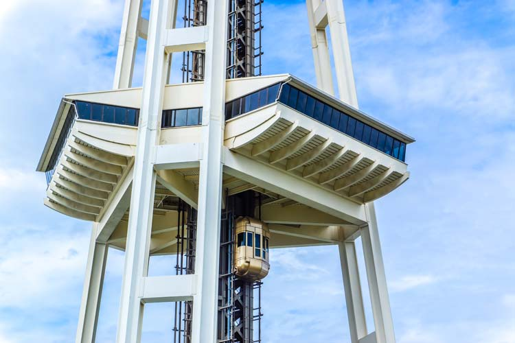 Seattle Space Needle observation deck
