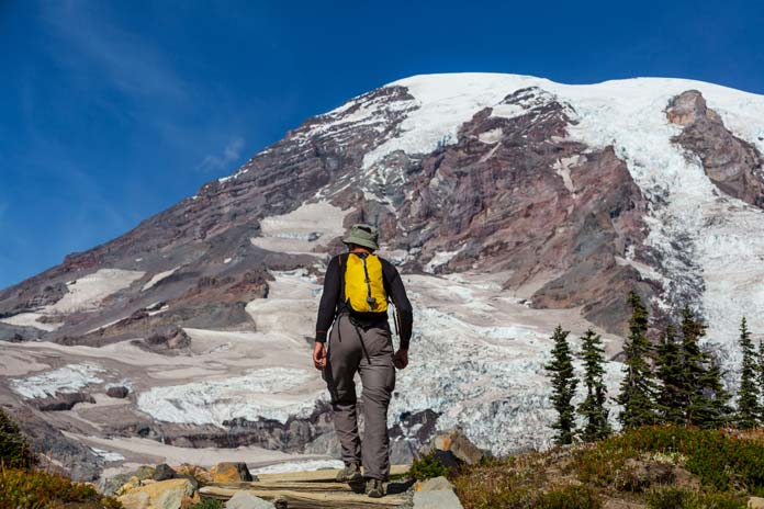 Hiking at Mount Rainier