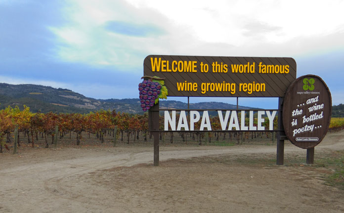 Napa County wine tours