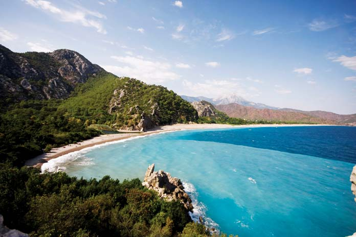 Take your time to discover the hidden beaches of Antalya