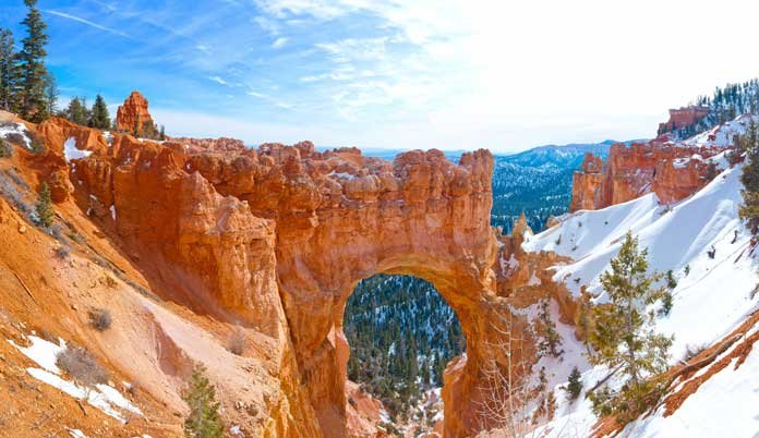 bryce canyon winter