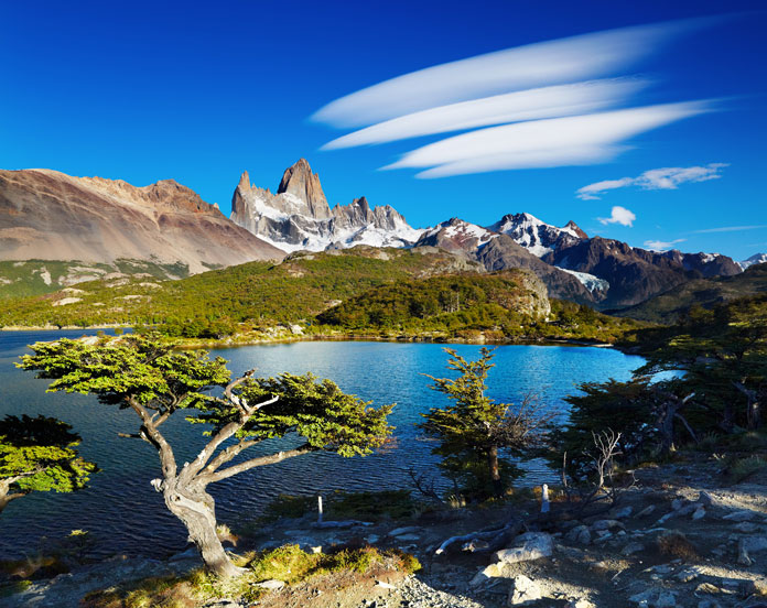 lakes of Los Glaciares