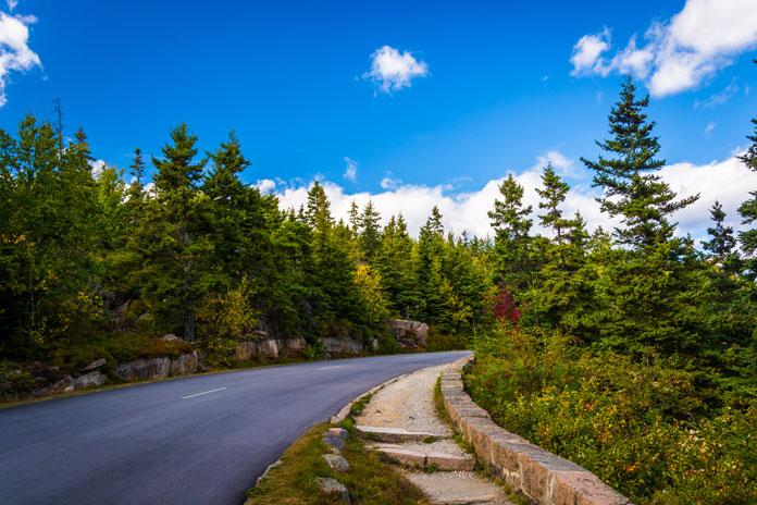loop road acadia