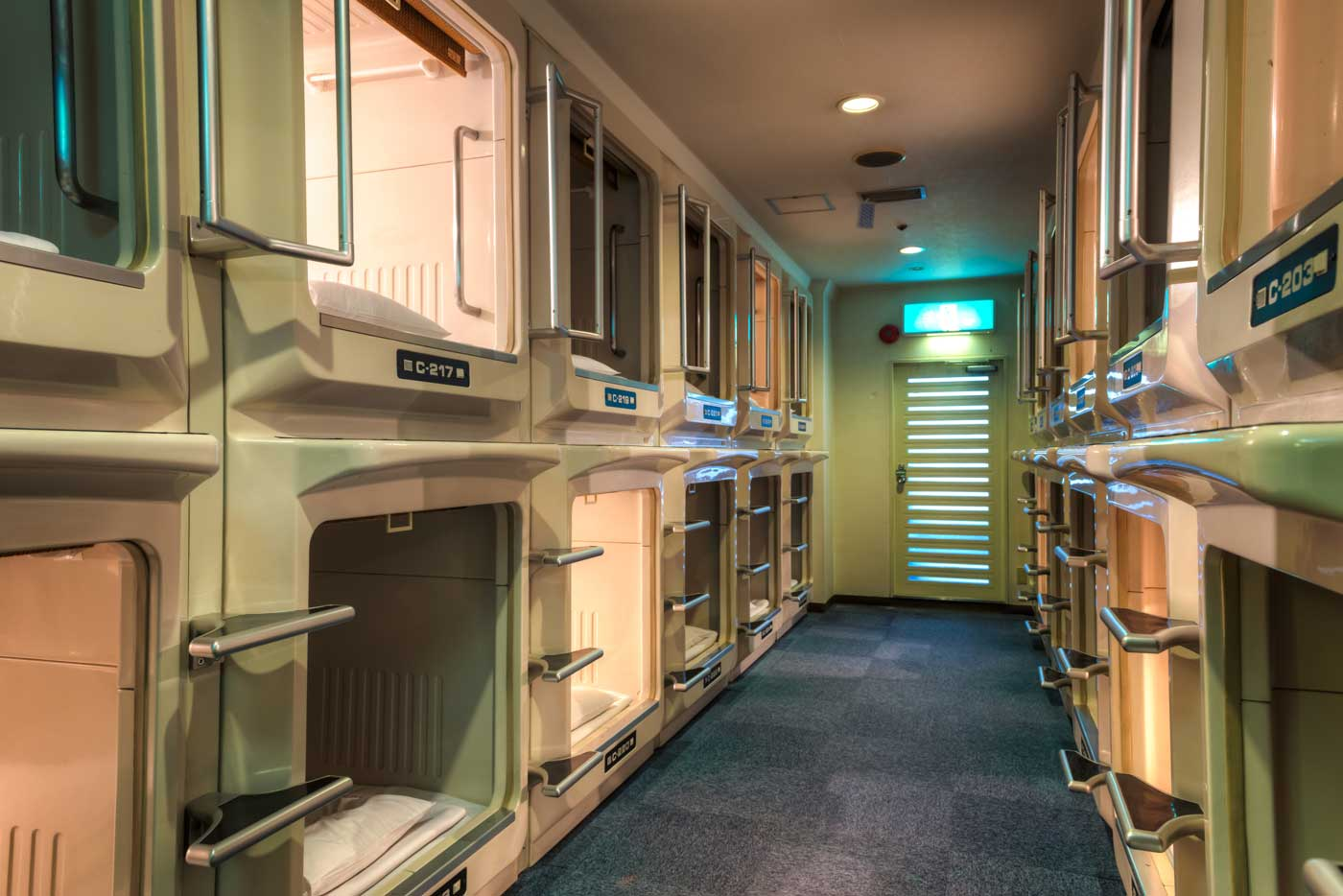 this intriguing capsule hotel is the accommodation you need. Black Bedroom Furniture Sets. Home Design Ideas