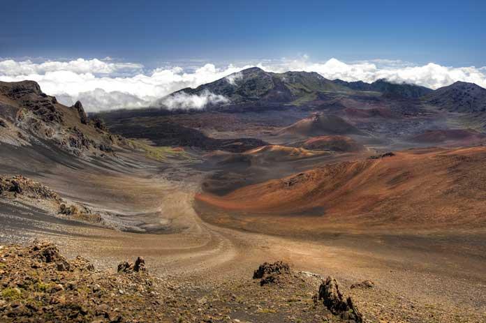 Haleakala Crater Maui Hawaii