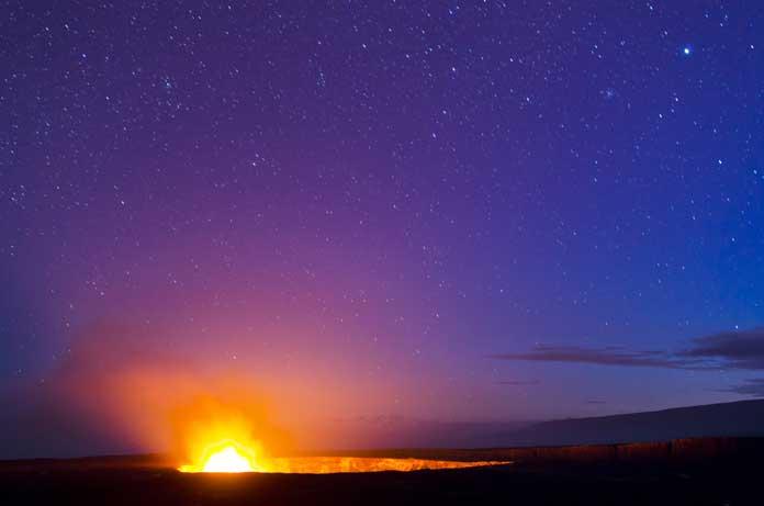 Halema uma u Crater