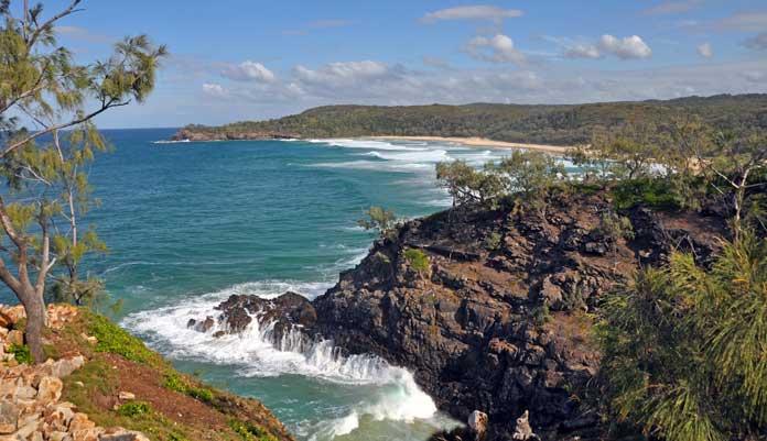Noosa National Park in Queensland