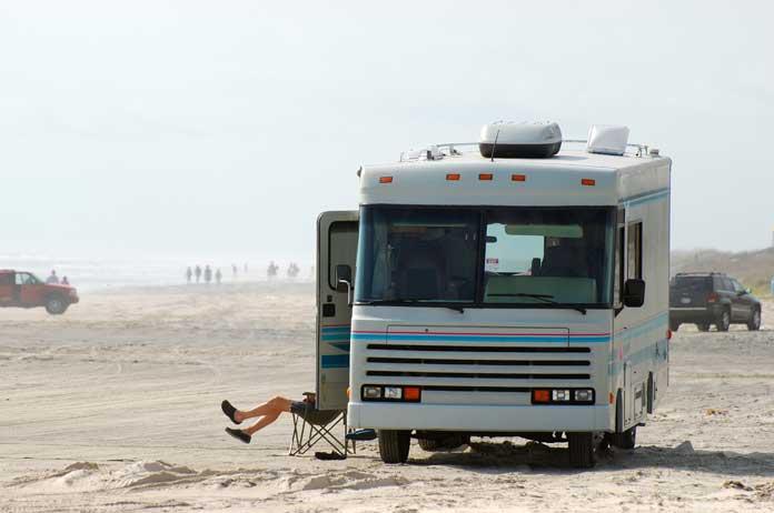 Padre Island camping
