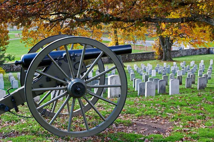 Cemetery at Gettysburg National Military Park