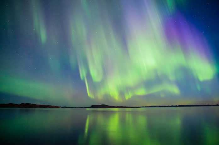 Aurora Borealis Nuuk Greenland