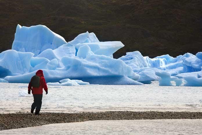 Grey Lake Torres del Paine