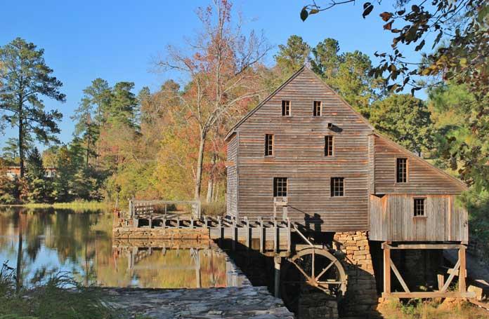 Historic Yates Mill County Park