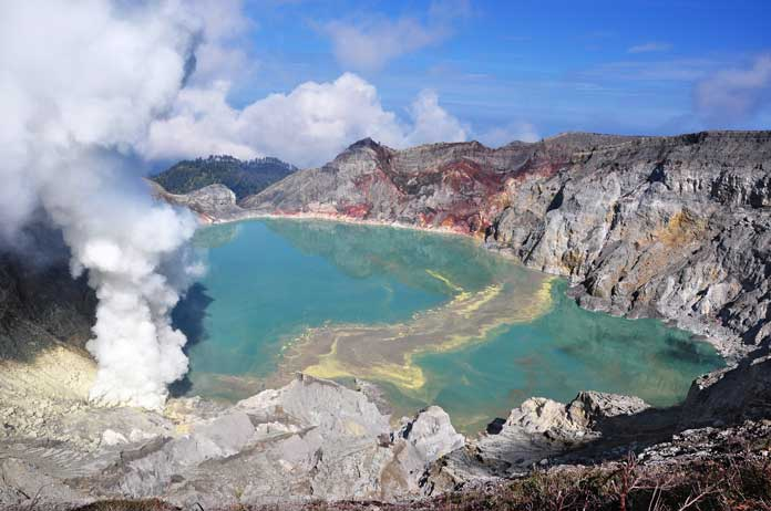 Ijen in East Java
