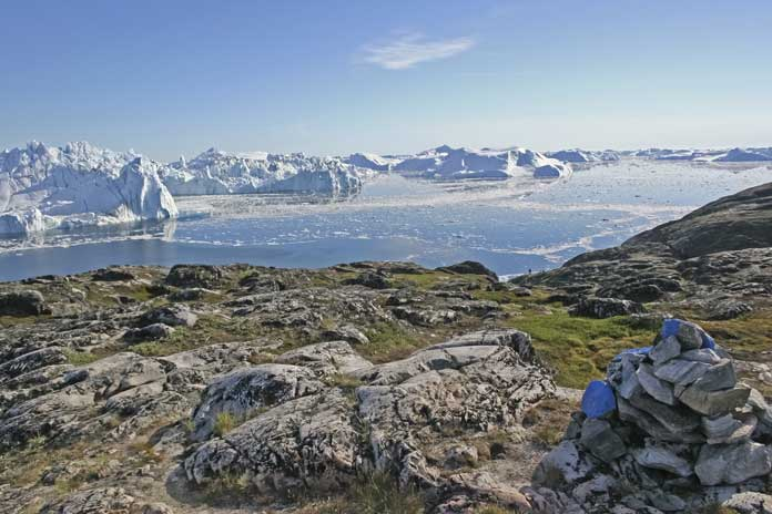 Jakobshavn Greenland