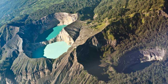 Kelimutu in East Nusa Tenggara