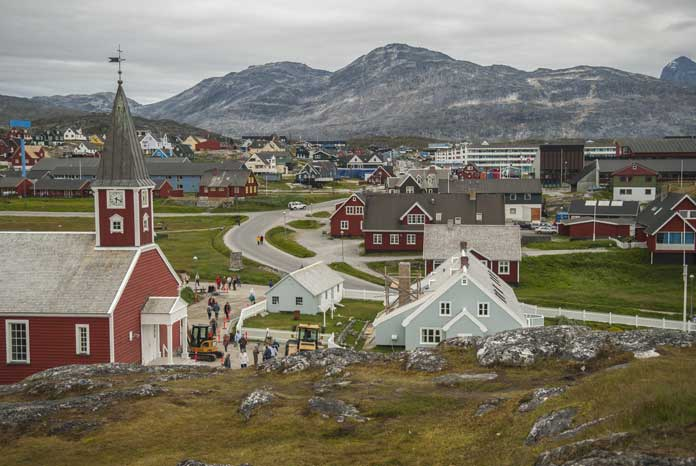 Nuuk the Capital of Greenland