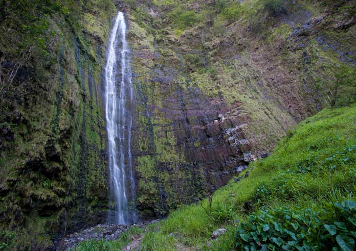 Waimoku waterfall