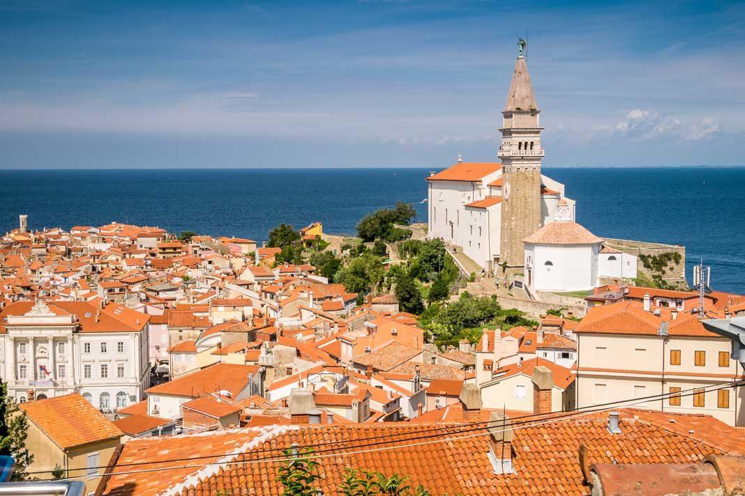 coastal towns Slovenia