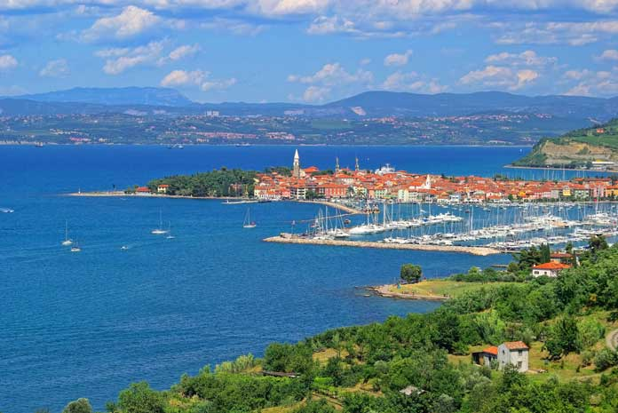 coastline of Slovenia