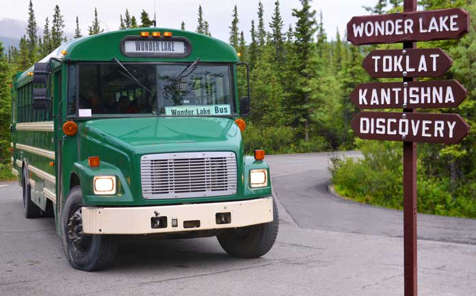 Bus Denali National Park
