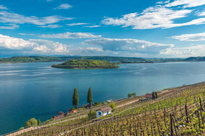 Lake Biel in Switzerland