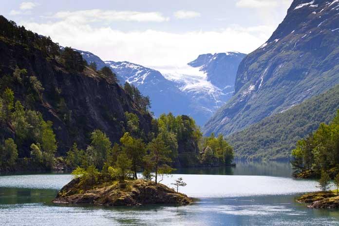 Lovatnet in Norway