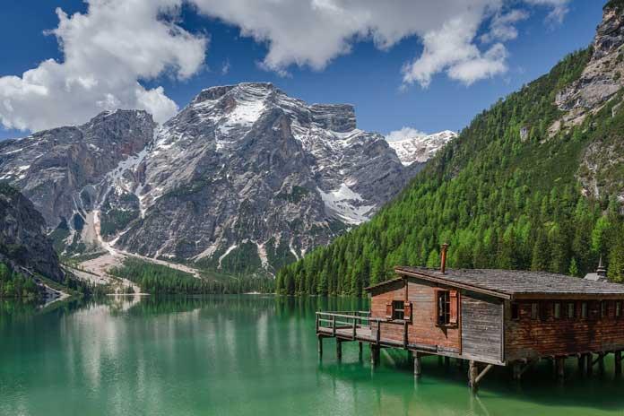 Pragser Wildsee in Italy