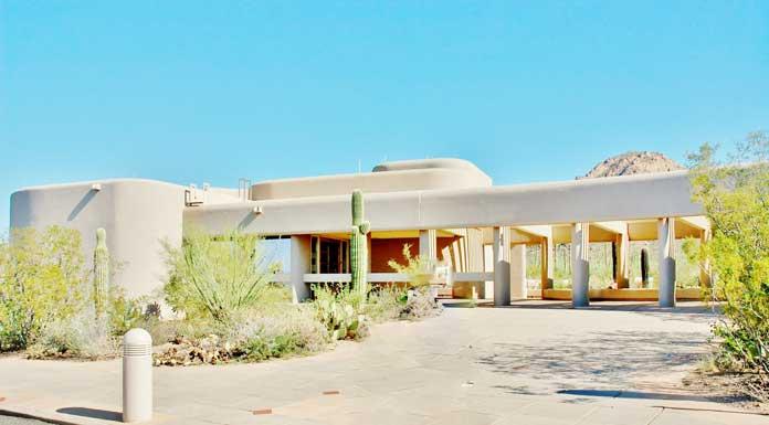 Saguaro national park visitor center