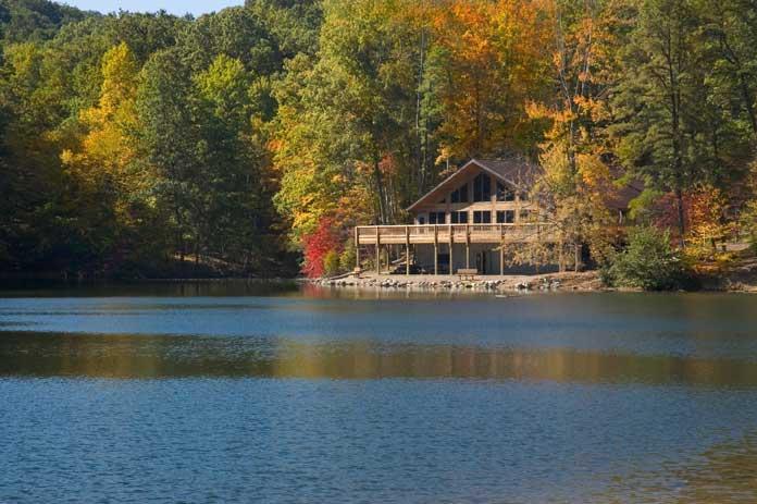 hocking hills ohio cabin