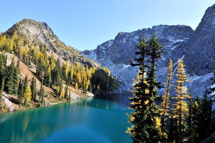 north cascades blue lake trail