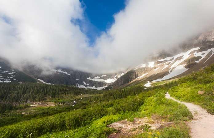 Iceberg Lake Trail